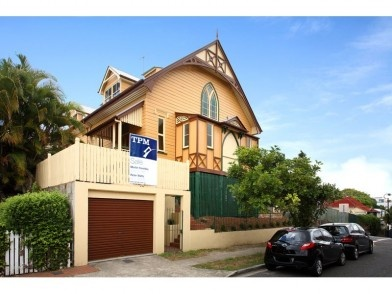 I lived in this converted church for 4 years - across the road from Suncorp Stadium - good times!
