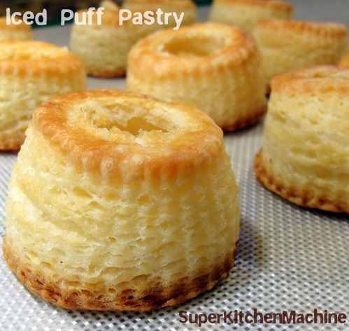 Iced Puff Pastry Recipe, even easier with Thermomix