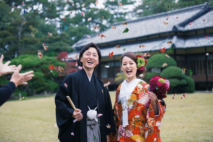 折り鶴シャワー300羽セット(和装挙式におすすめ) |和風・和婚がテーマ |結婚式アイテム専門店シェリーマリエ