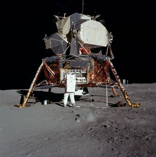 Buzz Aldrin on the Moon - July 21, 1969