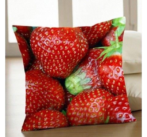 Strawberry Kitchen Chair Cushions