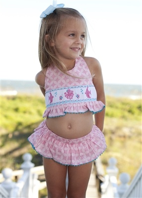 Pretty Suit For The Beach Baby Girl Looks Infantis