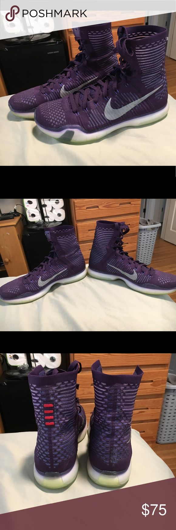 Nike Kobe 10 Elite Overall in excellent condition. No rips or tears. Worn only a few times. Size 12. Nike Shoes Athletic Shoes