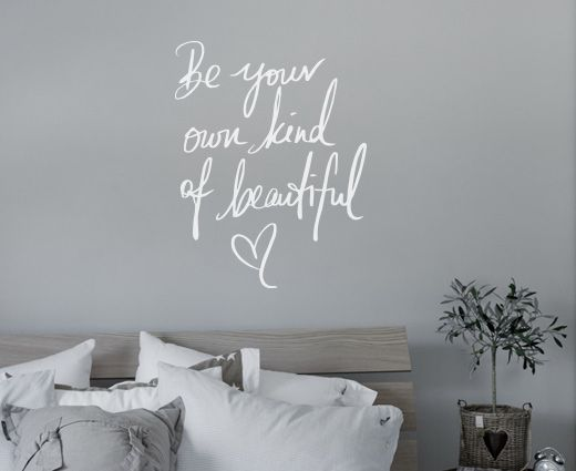 Happylines.no - Wallsticker - Beautiful