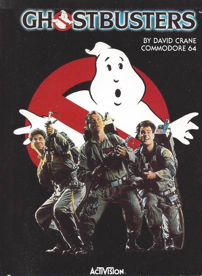 Ghostbusters (Commodore 64 video game) havde jeg på tape i en fornem plastik emballage. Købt hos Georg Christensen boghandel i Næstved