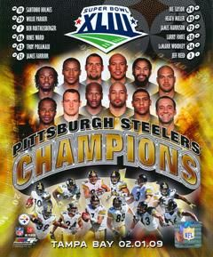 (2697) Pittsburgh Steelers Super Bowl XLIII 43 Champions Composite Photograph