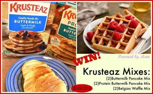 Krusteaz Waffle And Pancake Mix Giveaway Krusteaz Waffles Krusteaz Waffle Recipe Waffles