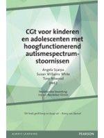CGT voor kinderen en adolescenten met hoogfunctionerend autismespectrum-stoornissen - Boeken