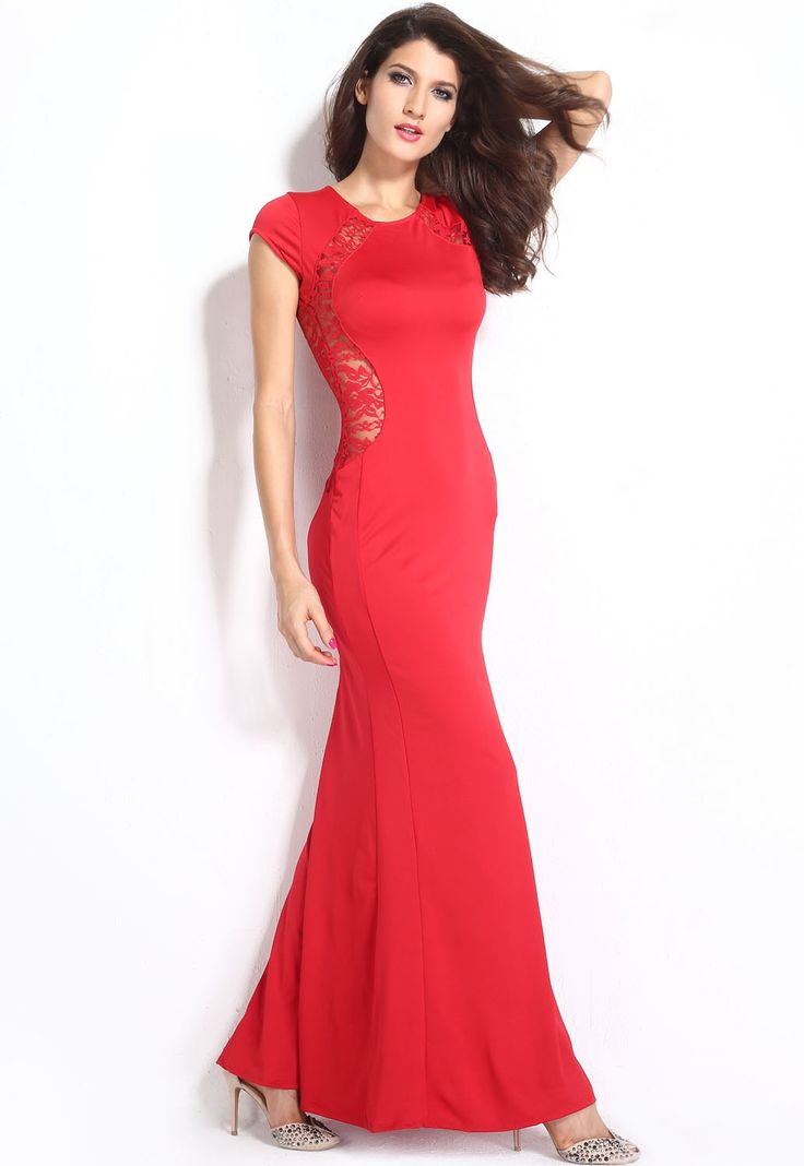 21 best Red Maxi Dress images on Pinterest | Rot maxi kleider ...