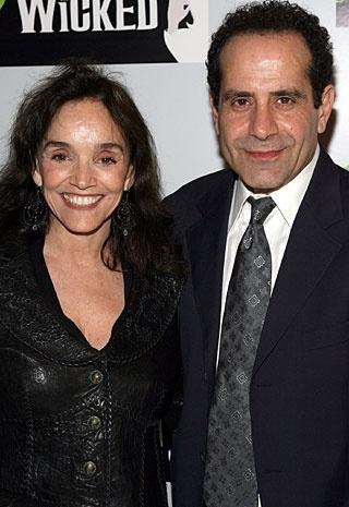 Tony Shalhoub and wife Brooke Adams, married since 1992 - 21 years!