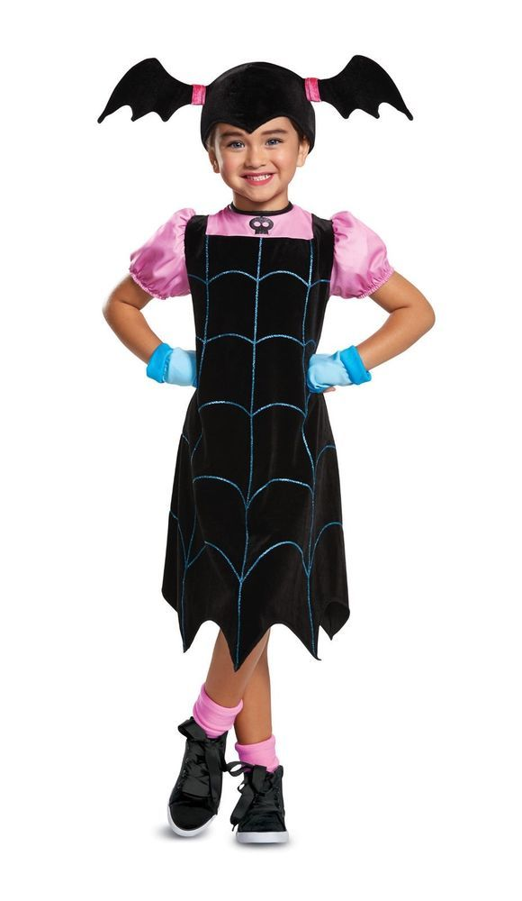 f115ec136 Classic Vampirina Child Girls Costume Size XS 3T-4T NEW ...