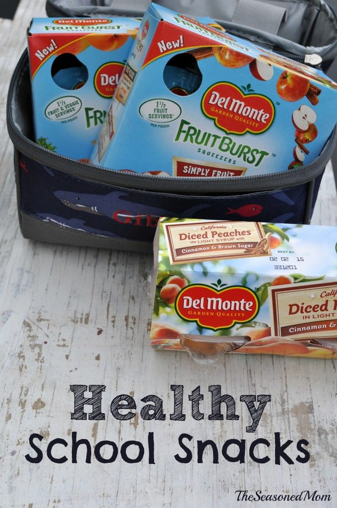 Healthy School Snacks: some simple ideas for healthy, easy school snacks! @delmontebrand #DelMonteBTS #PMedia #ad