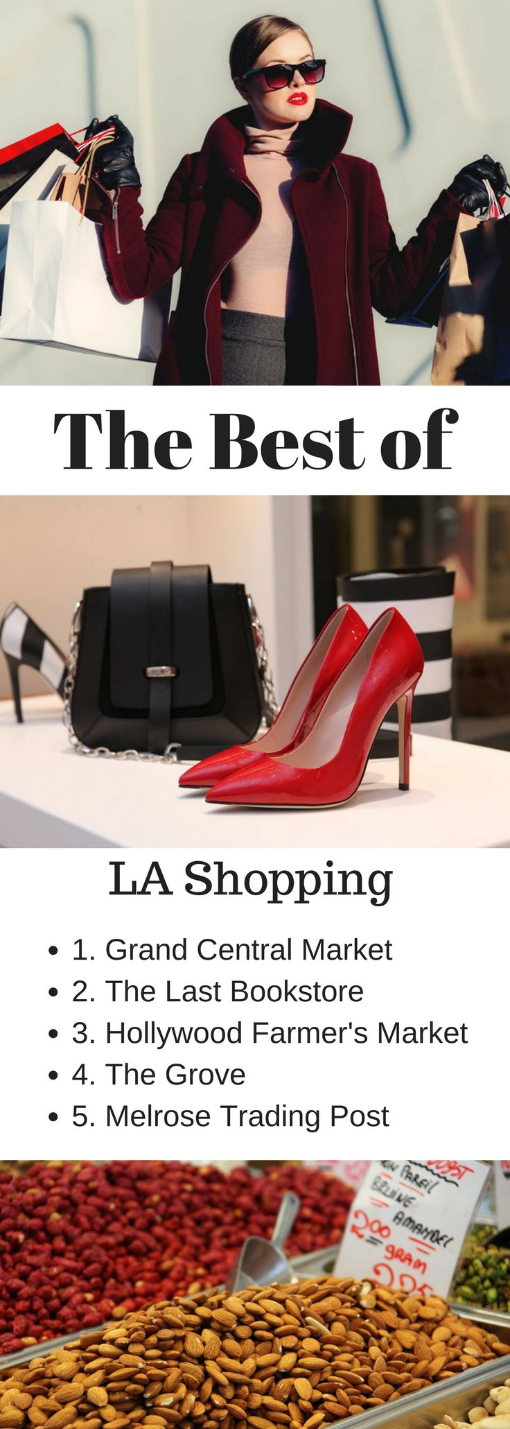 The best Los Angeles shopping all in one place! From LA boutique storefronts to outlet malls, here are the best Los Angeles shopping spots! Shoppings Los Angeles | Shops in LA | Santa Monica Shopping