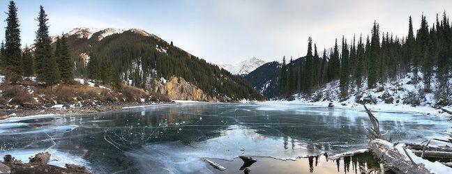 Winter in Astana, Kazakhstan