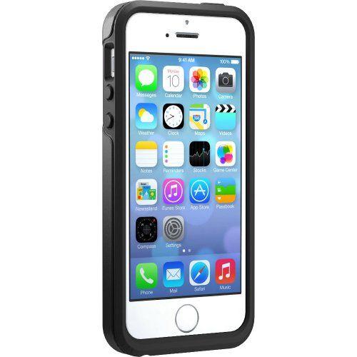 OtterBox Symmetry Series, Schutzhülle für Apple iPhone 5/5S, schwarz - http://www.xn--handyhllen-shop-4vb.de/produkt/otterbox-symmetry-series-schutzhuelle-fuer-apple-iphone-55s-schwarz/
