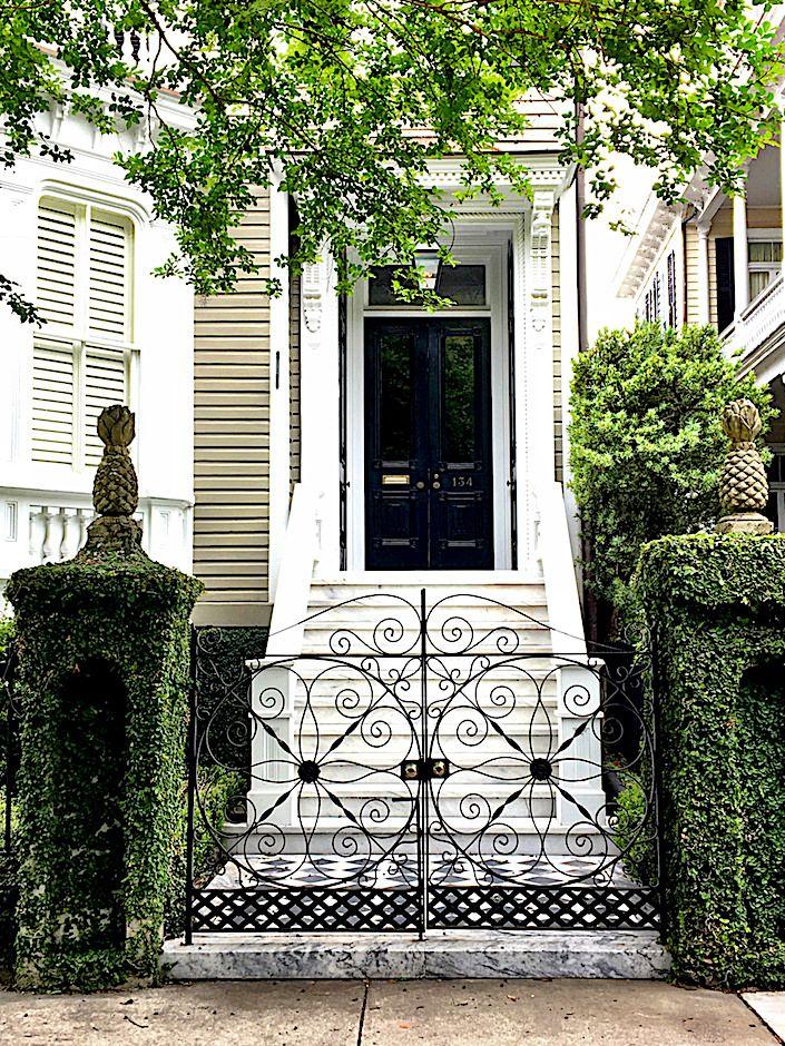 Historic Charleston gate pattern