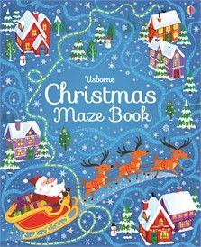 Usborne Christmas Maze Book