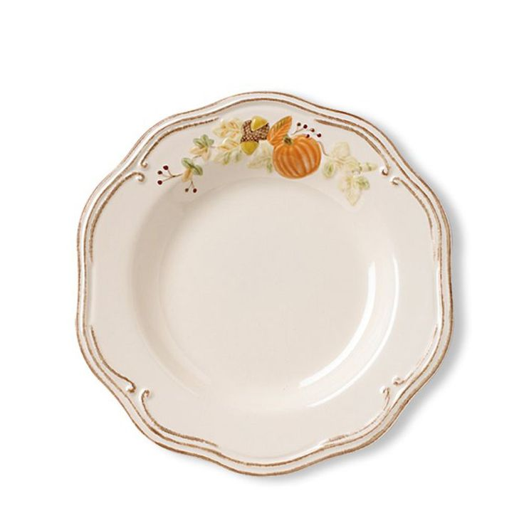 """Plymouth Luncheon Plates, 9"""". Microwave & dishwasher safe. $6.99 on sale at Pfaltzgraff.com, 11/20/15"""