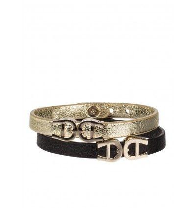 Ihr neues Must-have: Das klassische und elegante Armband von AIGNER ist aus genarbtem Rindsleder gefertigt und wird Ihr neuer Liebling. Geprägt wird das Design mit zwei stilvollen Logoapplikationen. Investieren Sie in das zeitlose Schmuckstück!Details:Ge