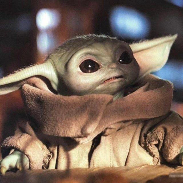 What Do You Mean You Sold Out Of Chicky Nuggies Babyyoda Yoda Wallpaper Star Wars Yoda Yoda Art