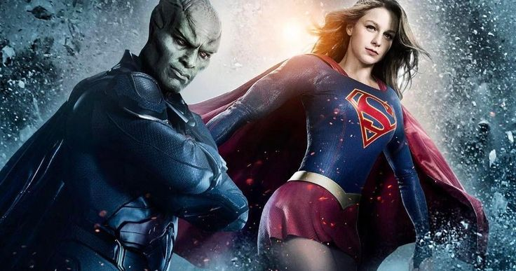 Martian Chronicles Poster Teases an Epic Supergirl Season 2 Team-Up -- David Harewood shares a first look poster for The Martian Chronicles episode of Supergirl Season 2. -- http://tvweb.com/supergirl-season-2-poster-martian-chronicles/