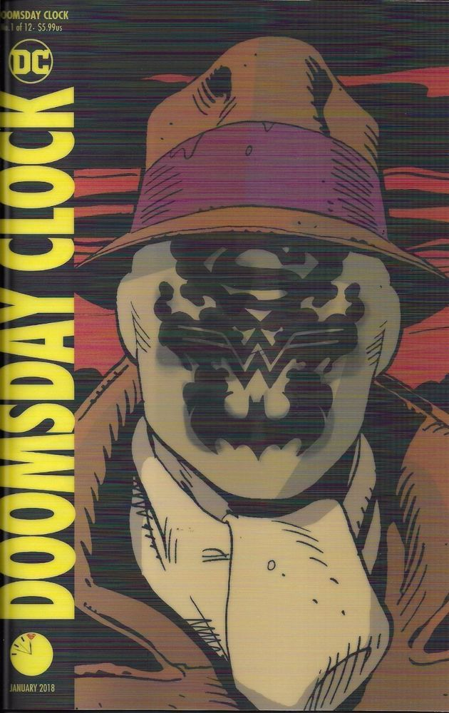 Dc Doomsday Clock Comic Issue 1 Limited Lenticular Variant