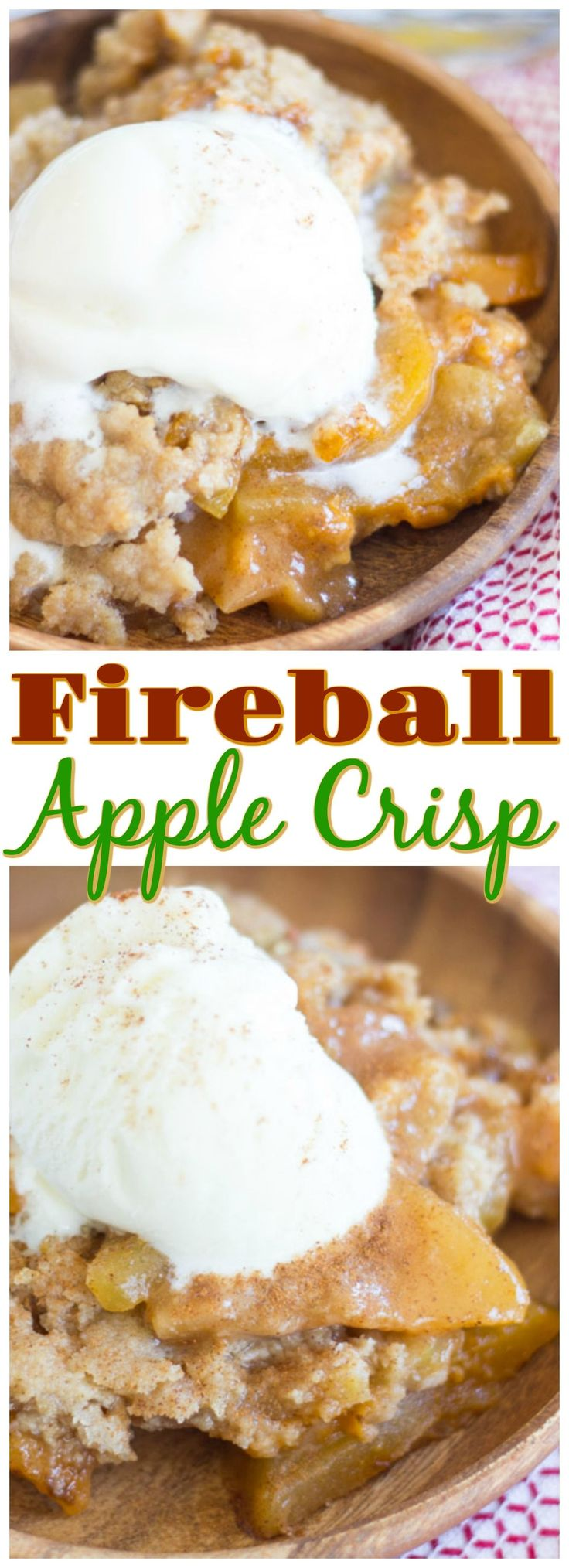 107 best fireball images on pinterest fireball recipes desert classic apple crisp spiked with fireball whiskey for a boozy kick this fireball apple crisp is loaded with sweet cinnamon y apples topped with buttery forumfinder Image collections