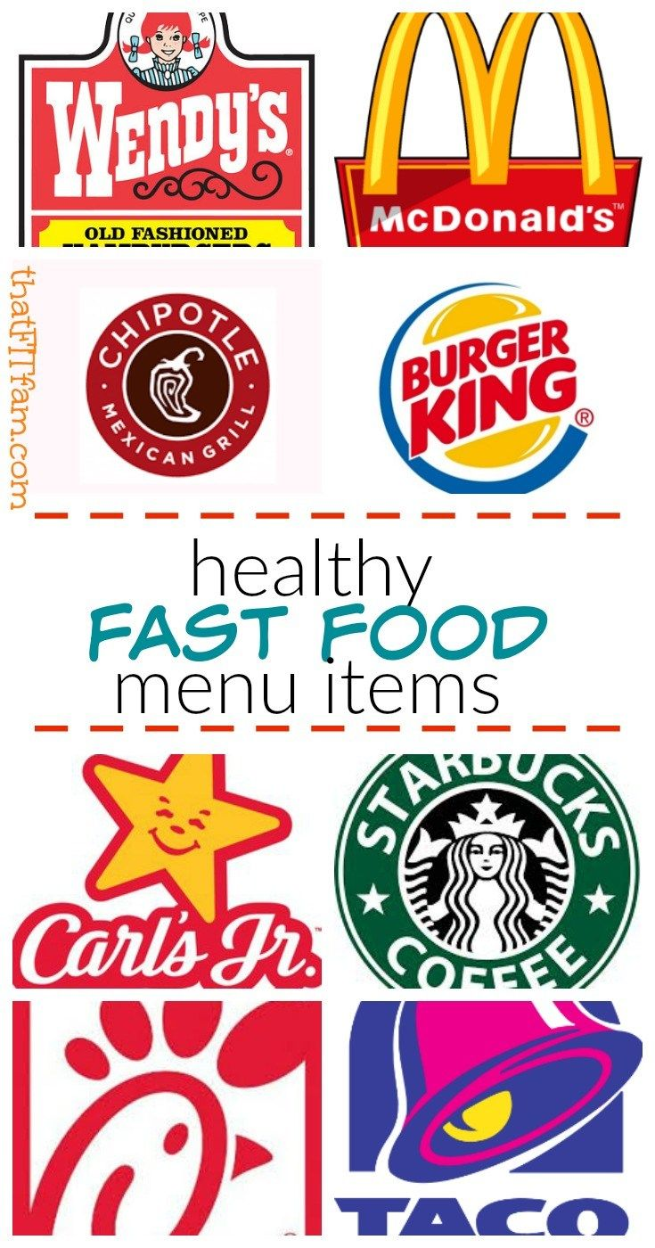 healthy fast food for your lunch break! how to eat healthy when you forget to me…