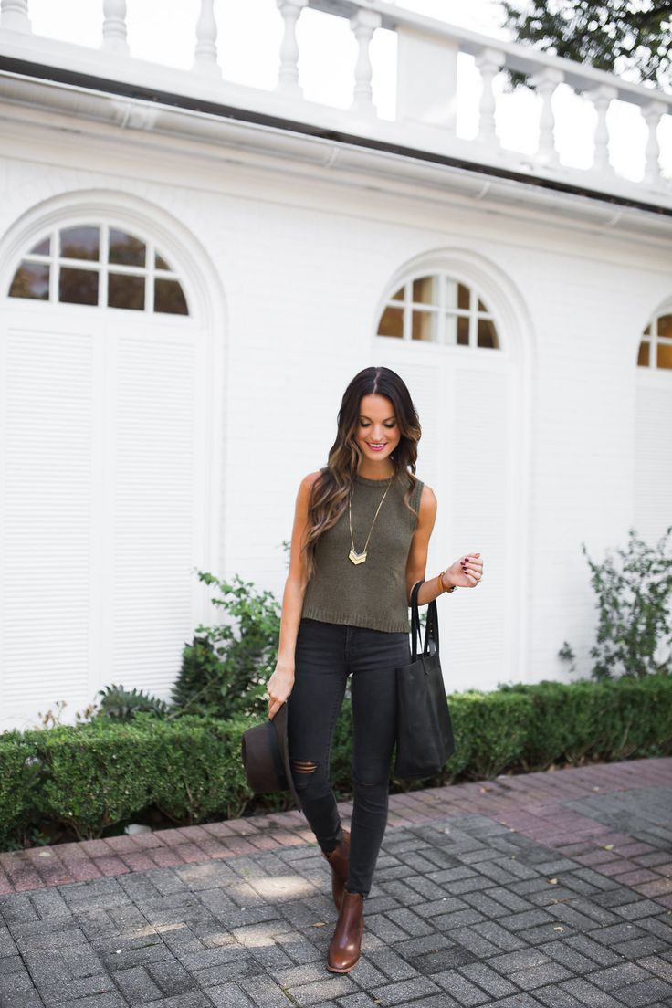 lauren sims madewell sleeveless sweater