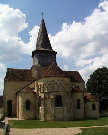 Nohant-en-Graçay (église Saint-Martin).