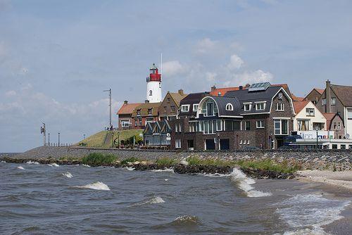 Het voormalige vissersdorp Urk