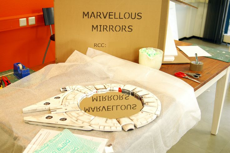 The mirror is sealed and wrapped in a protective foam blanket. All our packaging info and guidelines of use are added also - for the client to read. We include a cleaning cloth too - for in the future when you need to de-dust your mirror.