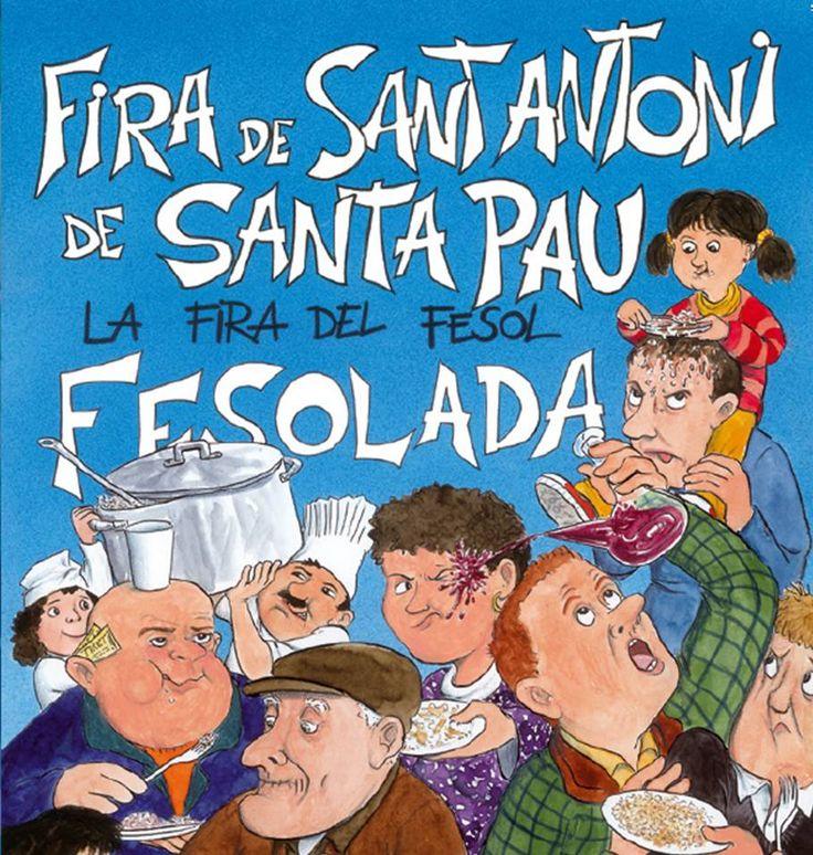Fira de Sant Antoni de Santa Pau (La Garrotxa) - Fesolada