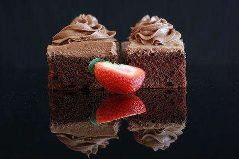 Saftig sjokoladekake i langpanne!