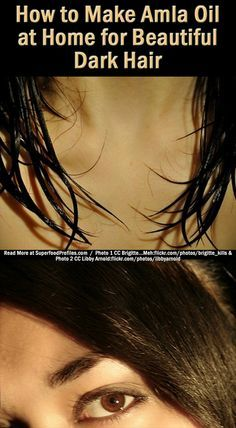 Here's a recipe for amla hair oil you can make at home. It leaves your hair looking incredibly healthy and shiny and feeling both thicker yet really soft http://superfoodprofiles.com/homemade-amla-oil-hair