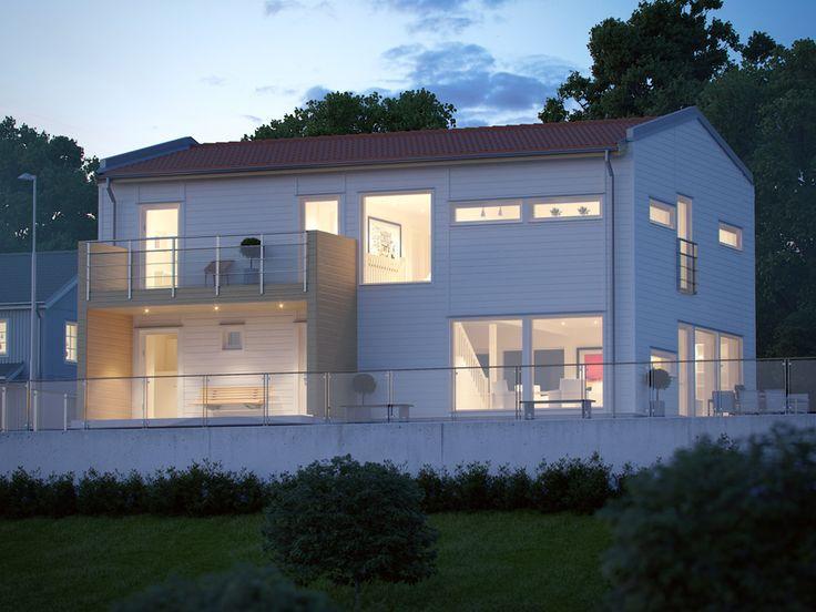 Stångskär är traditionell villa i modern tappning - Myresjöhus