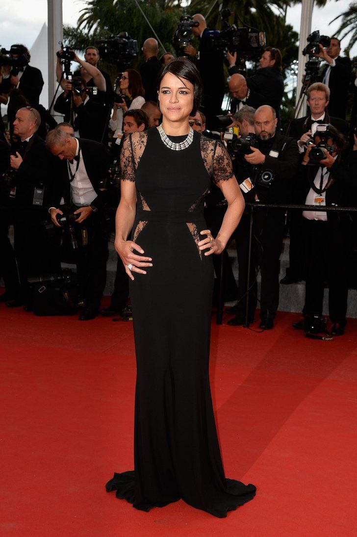 Pin for Later: All the Gorgeous Stars at the Cannes Film Festival Michelle Rodriguez