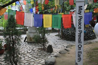 "#India Norbulingka Tibetan Monastery, Dharamsala - 2009 ""May Peace Prevail on Earth"""
