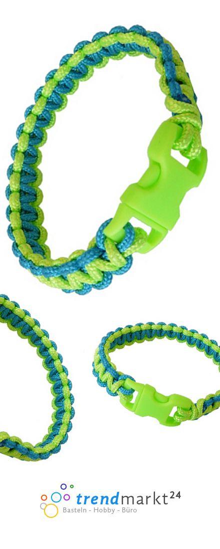 Paracord Armband selber machen. Anleitung mit Video Tutorial! #Bracelet #Paracord #knots