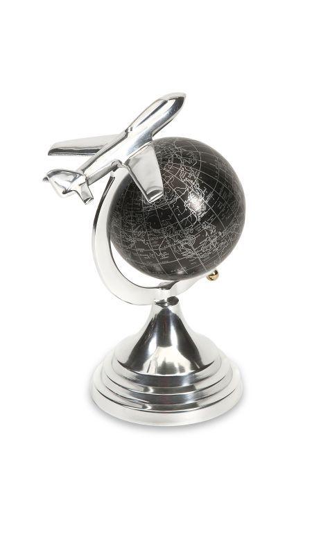IMAX Home 89417 Hadwin Small Airplane Globe Home Decor Accents Statues & Figurines
