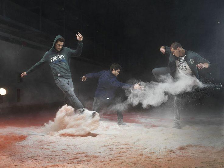 Freddy FW2013 The Art of Movement Man Collection - Training College - Photographer: Lorenzo Vitturi; Location: Spazio Ansaldo.