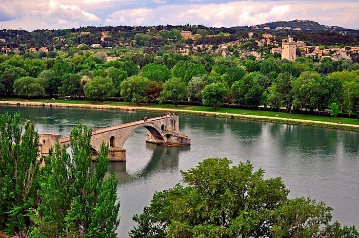 The bridge of Avignon  Le Pont d'Avignon, Provence  | by © strawberrylee