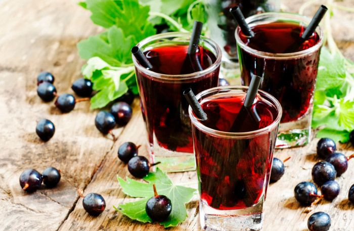 10 goda recept med svarta vinbär som bas