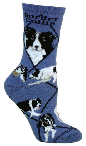 Border Collie Animal Socks On Blue 9-11  #Animal #Blue #Border #Collie #Socks From BorderCollies.xyz. Click through for more!