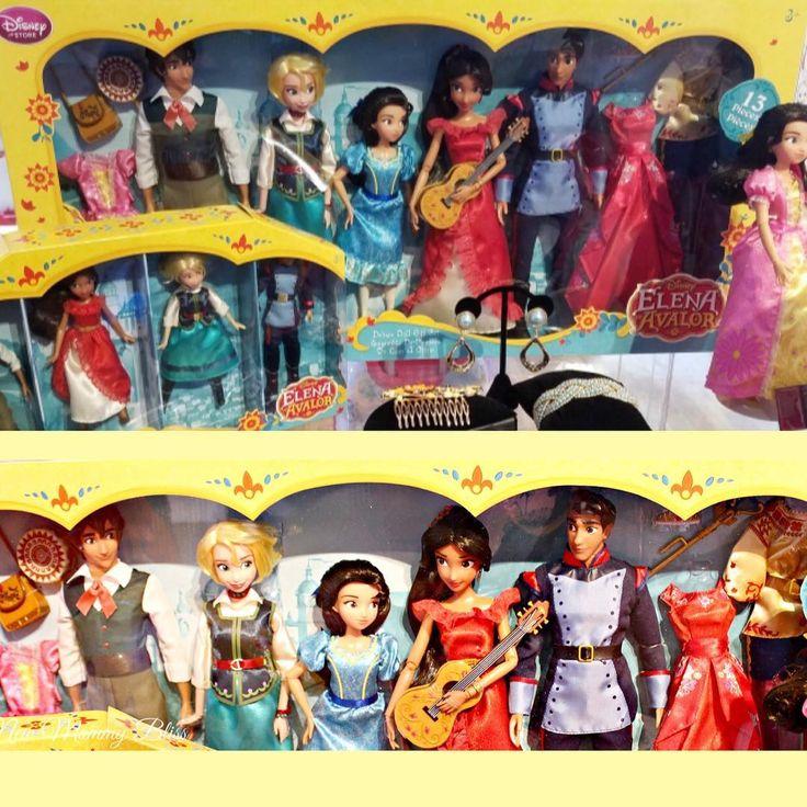 Colección de juguetes con la muñeca Elena de Avalor