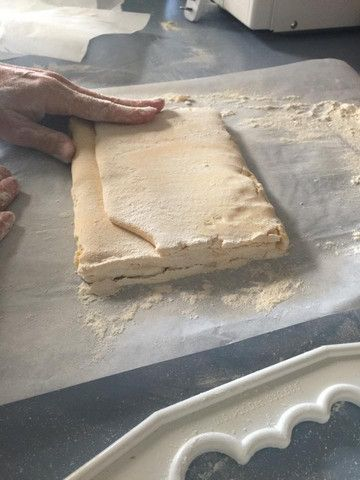 Paleo Puff PastryIngredients50g of ice100g of butter, frozen in cubes100g of Ottos Cassava Flour1tsp of xanthan gumPinch salt3 tablespoon of cold waterThis reci