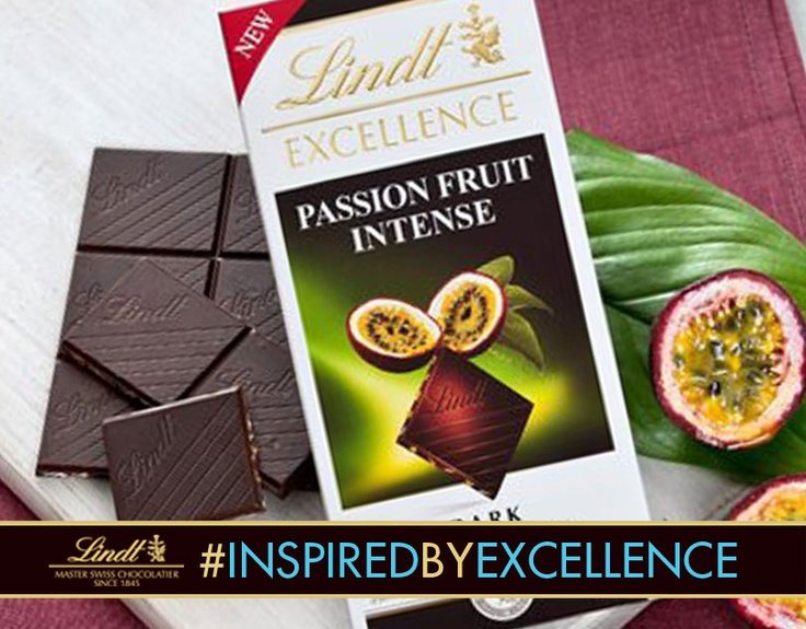 "Follow Lindt Chocolate on Pinterest and re-pin this image for a chance to win one of the limited edition bars! Include ""I am #InspiredbyEXCELLENCE because… *FILL IN YOUR REASON*]"" in the caption of your re-pin."
