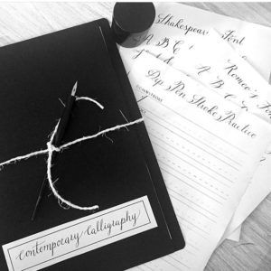 Contemporary Calligraphy Lessons