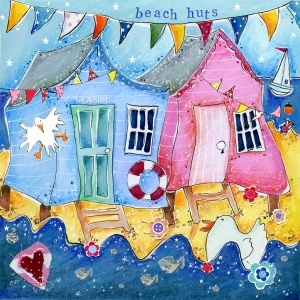 Beach Huts - Artistic Britain - Bringing British Art Home Susie Grindey
