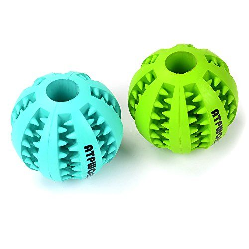 Aus der Kategorie Bälle  gibt es, zum Preis von EUR 13,99  Unser Ball aus hochqualitativem Gummi wird Ihnen bestimmt gefallen. Dieses Spielzeug für Ihren Hund ist nicht nur gefallen, sondern auch hilfreich sein, um die Gesundheit Ihres Pfleglings zu unterstützen. wie, werden Sie sich fragen? Ganz einfach! Das Design von diesem Hundeball ist einzigartig und dank diesem Design kann dieser Ball den Zahnfleisch Ihres vierbeinigen Freundes sorgsam massieren. Außerdem kämpft der Ball aus Gummi…